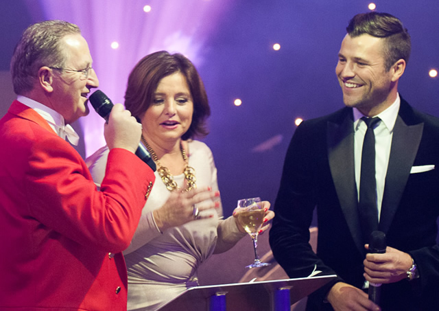 At an Event with Mark Wright