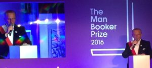 Man Booker Prize ceremony 2016