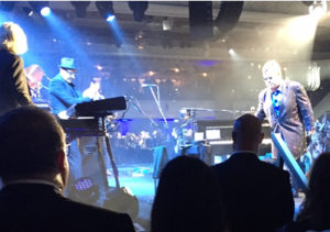 Elton John entertains at event