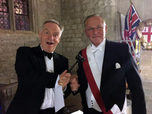 David with Lord Archer